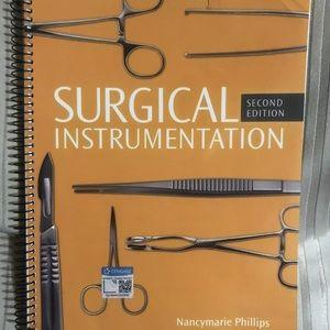 Surgical Technologist instrumentation book